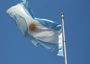 "Argentinos vėliava. ""Wikipedia"" nuotr."