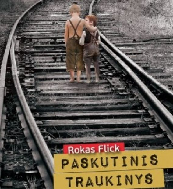 """R.Flicko knygos """"Paskutinis traukinys"""""""