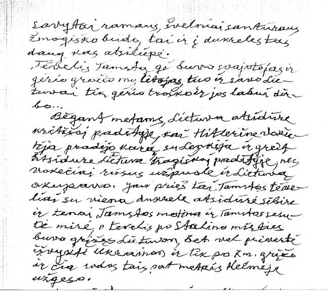 K.Šimonio ranka rašytas laiškas2