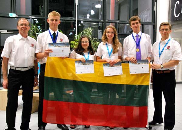 Lietuvos komanda pasaulinėje geografijos olimpiadoje