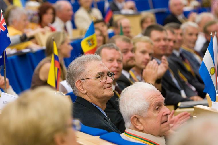 Pasaulio lietuvių bendruomenės Seimo posėdis | lrs.lt, O.Posaškovos nuotr.