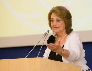 Pasaulio lietuvių bendruomenės (PLB) valdybos pirmininkė Regina Narušienė | lrs.lt, O. Posaškovos nuotr.