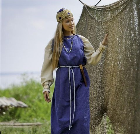 V-VIII a. Kuršių genties rūbai | Artūro Moisejenko nuotr.