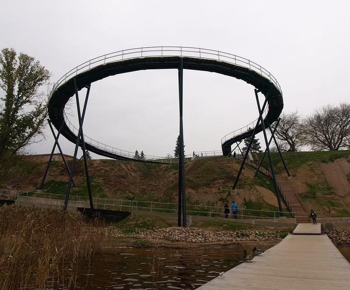 Zaraso ežero apžvalgos ratas (arch. Š. Kiaunė) | nuotr. pilotas.lt