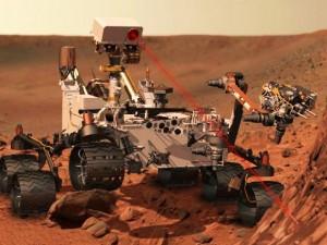 """Curiosity"" Marse | NASA nuotr."