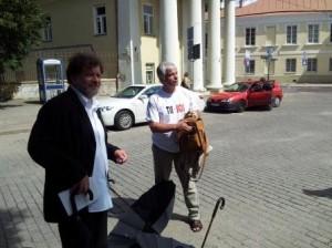 D.Kuolys ir G.Umbrasas. Alkas.lt nuotr.
