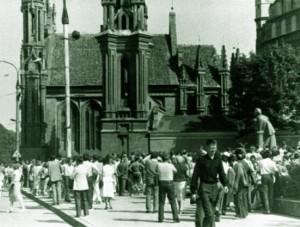 Laisvės Lygos mitingas Vilniuje 1987 08 23 d. | R.Lanko nuotr.