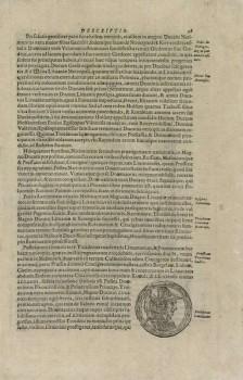 Aleksandro Gvagninio ''Europos Sarmatijos aprašymas'' (Sarmatiae Europeae descriptio). Traideniui skirta dalis