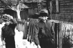 Berniukai. Galvonai (1963), R.Augūno nuotr.