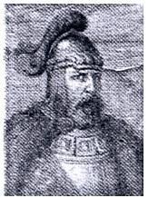 """""""Didysis kunigaikštis Traidenis"""". Paveikslas iš: Ivinskis Z. Traidenis ir jo tautinė politika, Trimitas, 1939, nr. 48 (989), p. 1164."""