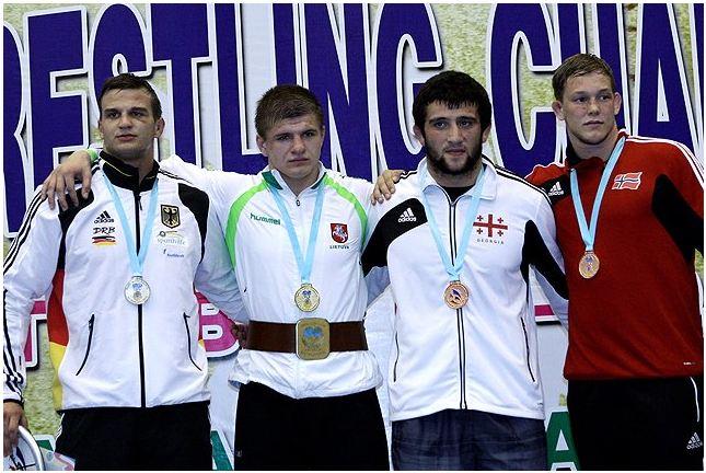 96 kilogramų kategorijos nugalėtojai. Organizatorių nuotr.