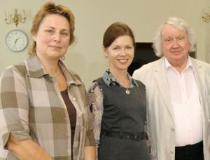 Konkurso iniciatoriai Z.Bružaitė, R.Prusevičienė, J.Domarkas | M.Aleksos nuotr.