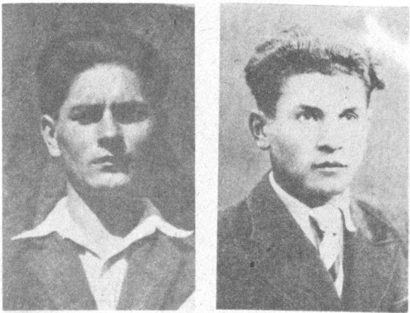 Stasys Lukša ir Jurgis Lukša   www.partizanai.org nuotr.