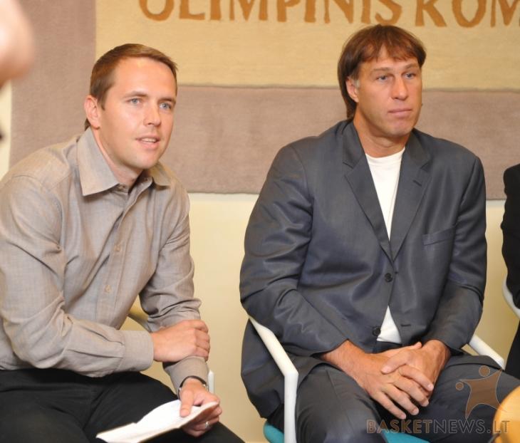 Marius Markevičius ir Šarūnas Marčiulionis | basketnews.lt nuotr.