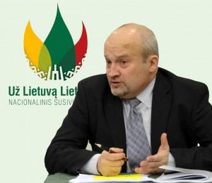 Nacionalinio susivienijimo politinės tarybos pirmininkas G.Songaila | Alkas.lt, J.Vaiškūno nuotr.