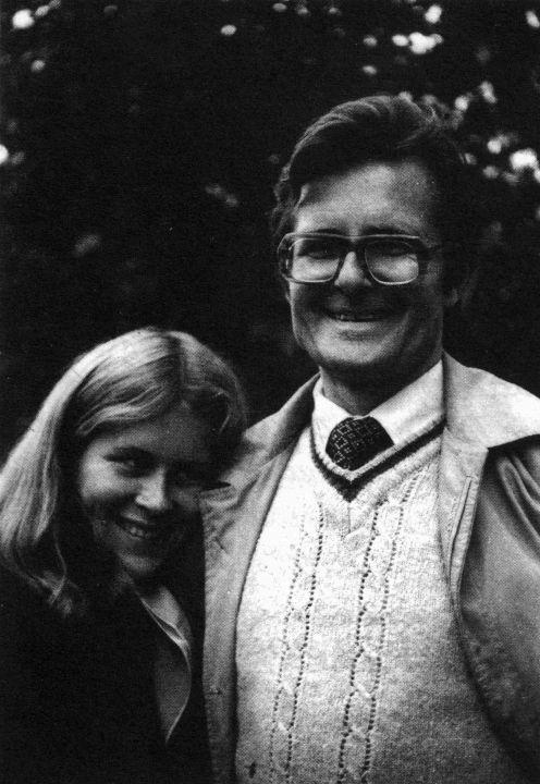 Norbertas Vėlius su dukra Rūta