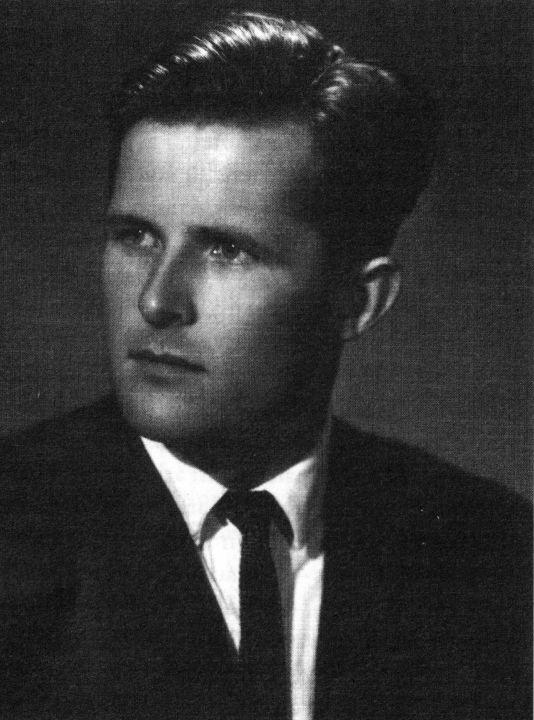 Norbertas Vėlius baigęs Universitetą 1962 m.