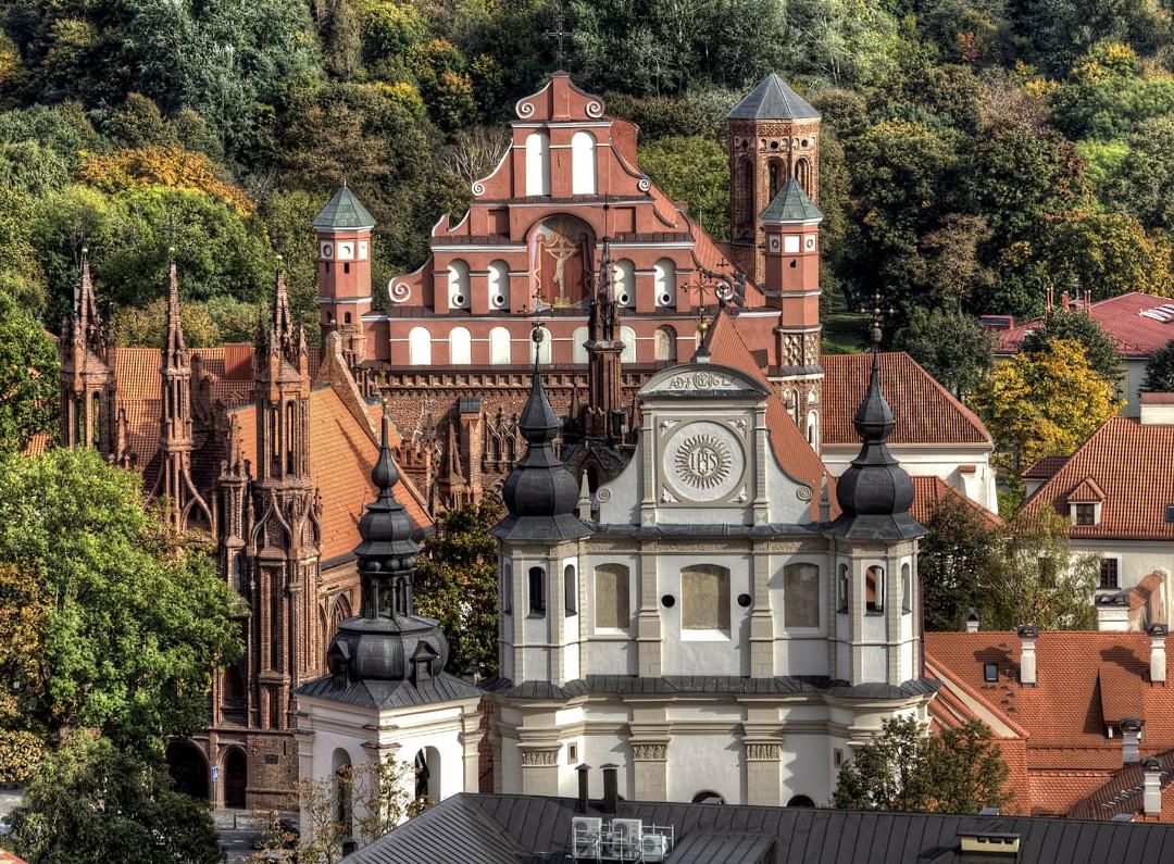 Senieji Vilniaus stogai | efoto.lt L.Ciūnio nuotr.