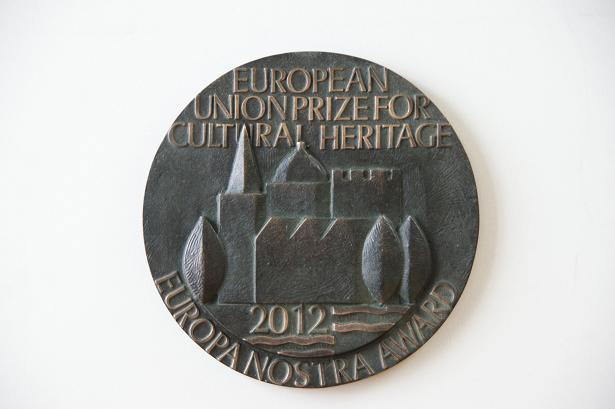Europa Nostra apdovanojimas