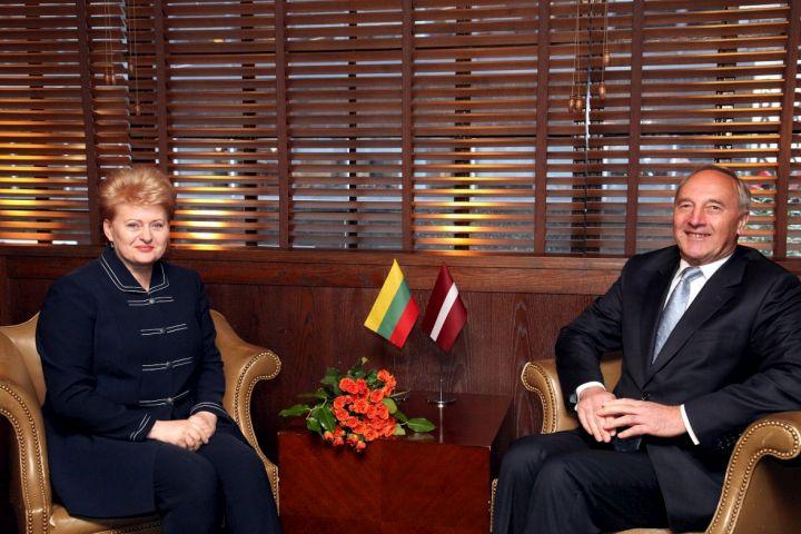 D.Grybauskaitė ir A.Berzinis | lrp.lt nuotr.