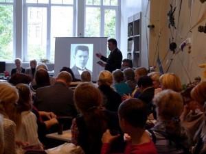 Knygos apie A.Voldemarą pristatymas | Rengėjų nuotr.