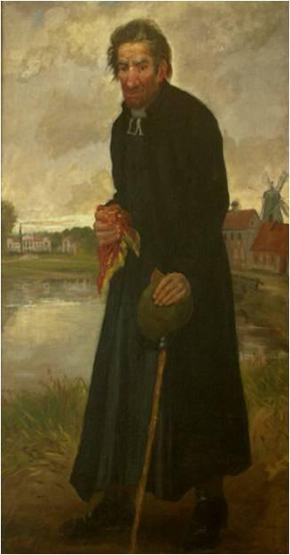 Edvardas Matas Römeris. Poeto Antano Strazdo portretas