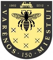 Jubiliejinis Varėno herbas