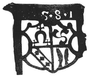 Vėjarodė, pagaminta 1581 m. ir rasta 1968 m. Liubičios (Gudija) miestelyje-tvirtovėje