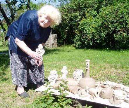 Keramikė Ona Kreivytė-Naruševičienė | visitneringa.com nuotr.