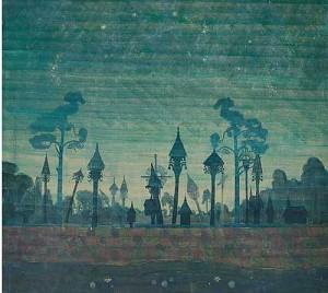 M.K.Čiurlionio paveikslas