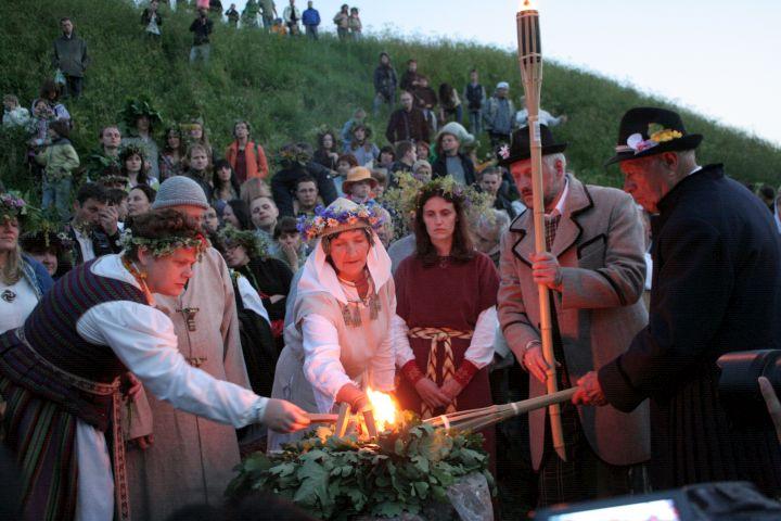 Rasos šventė Kernavėje | Alkas.lt, V.Kašinsko nuotr.