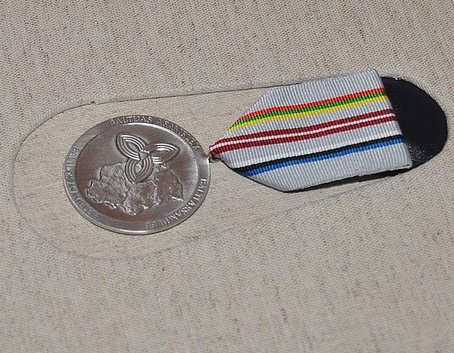 Baltijos asamblėjos medalis | vikipedija.lt nuotr.