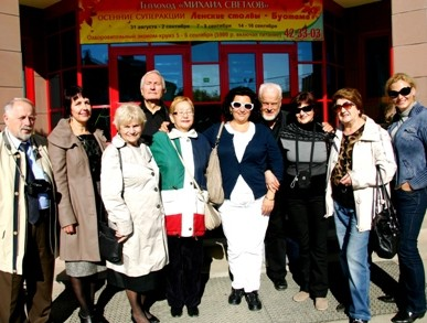 Lietuvių delegacija Jakutske | V.Miliausko nuotr.