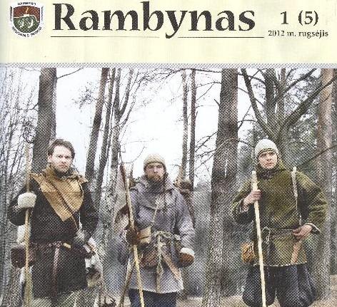 """""""Rambyno"""" viršelis"""