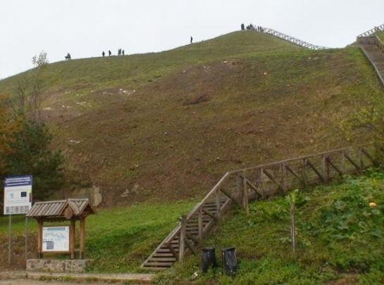 Seredžiaus piliakalnis | Valstybinės saugomų teritorijų tarnybos nuotr.