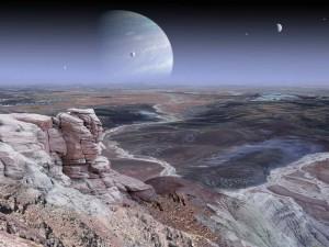 Kitas pasaulis dailininko akimis | newearthplanets.blogspot.com