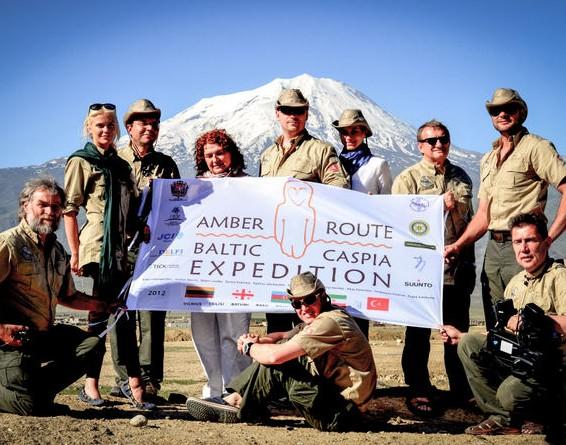Ekspedicija Gintaro keliu | Organizatorių nuotr.