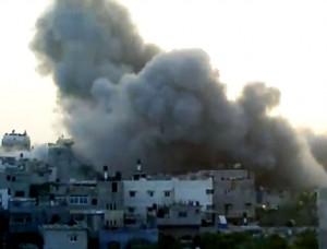 Gaza skendi ugnyje
