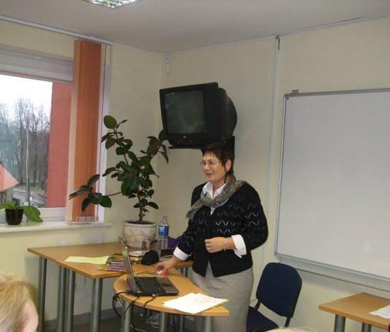 Mokytoja Virginija Rudavičienė