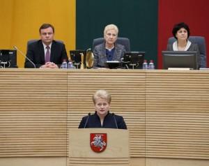 Dalia Grybauskaitė | lrp.lt, Dž. Barysaitės nuotr.