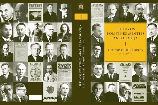 Lietuvos politinės minties antologijos viršelis