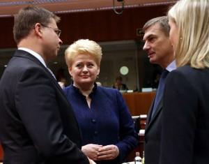 D.Grybauskaitė EVT posėdyje | lrp.lt nuotr.