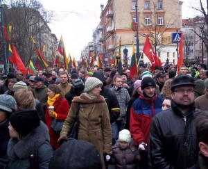Kovo 11-os eitynės 2012 m. | Alkas.lt, T.Baranausko nuotr.