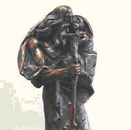 Kristoforo statulėlė