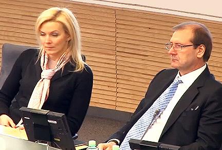 V.Vonžutaitė ir V.Uspaskichas | Alkas.lt nuotr.