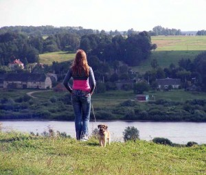 Žvilgsnis nuo Seredžiaus piliakalnio   Autorės nuotr.