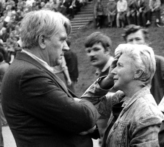 Kalnų parke AntanasTerleckas ir Laima Pangonytė 1989.09.02 | lt.wikipedija.org nuotr.