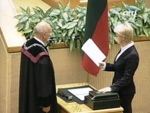 N.Venckienės inauguracija Seime