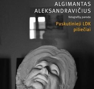 """A.Aleksandraviciaus knygos """"Paskutinieji LDK piliečiai"""" viršelio fragmentas"""