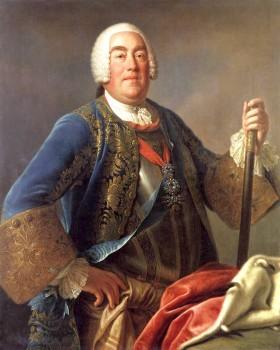 Augustas III. Dail. Pietro Rotari, 1755 m.